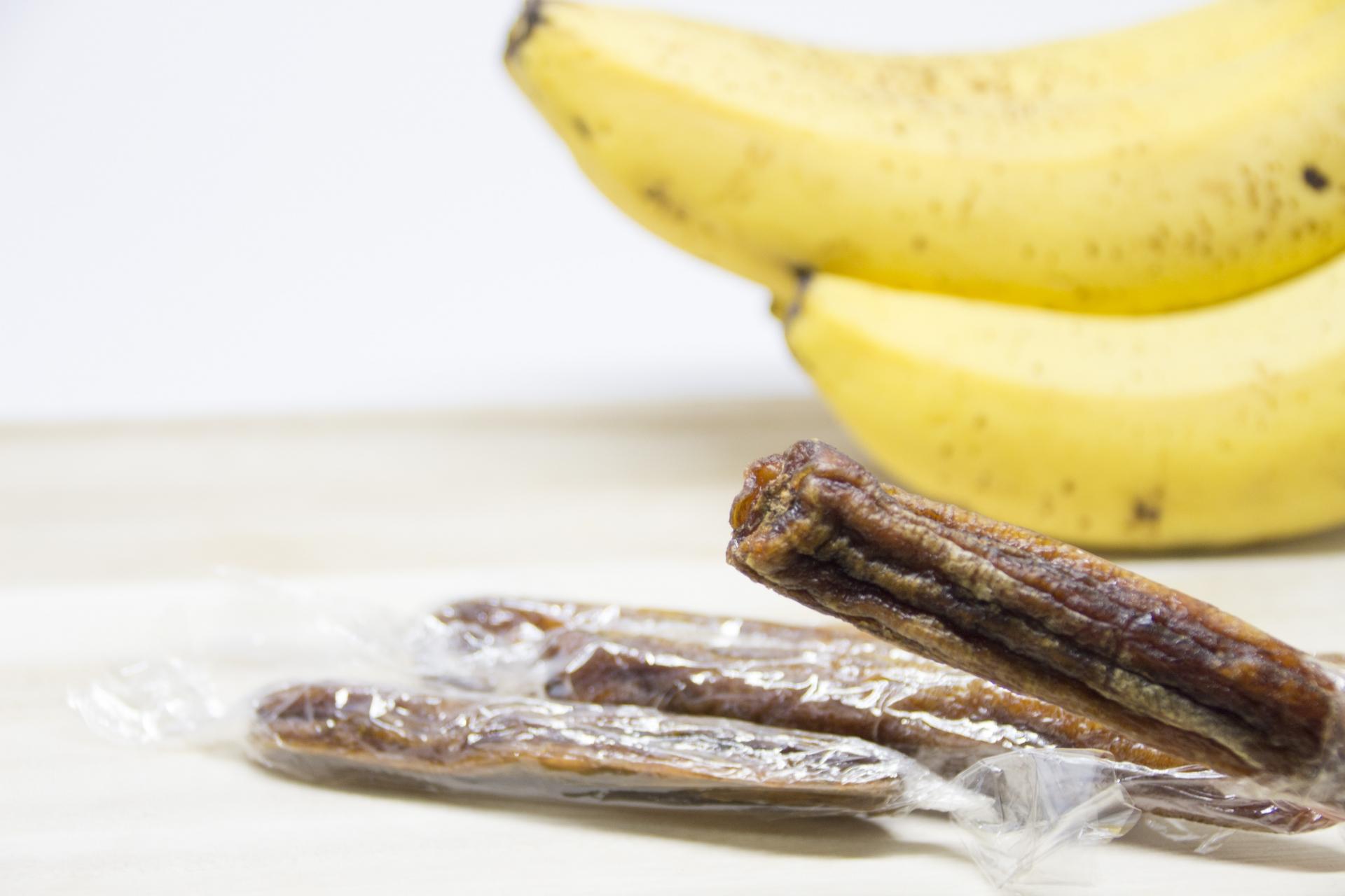 バナナは干すことで栄養価アップ?切って干すだけ!簡単ドライバナナ