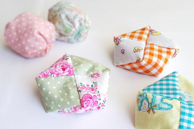 お手玉・座布団型の作り方 簡単な縫い方をわかりやすく画像でご紹介